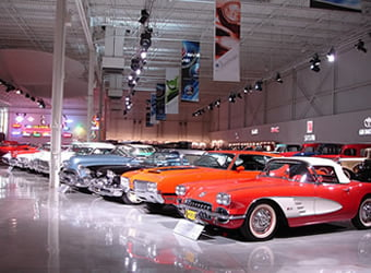 the GM Heritage Center in Sterling Heights